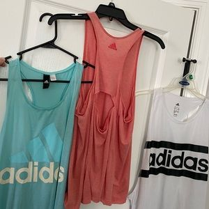 Set of 3 - Adidas tank tops